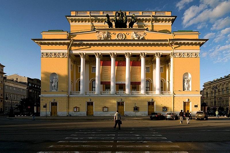 main-facade-of-the-alexandrinsky-theater-in-st-petersburg